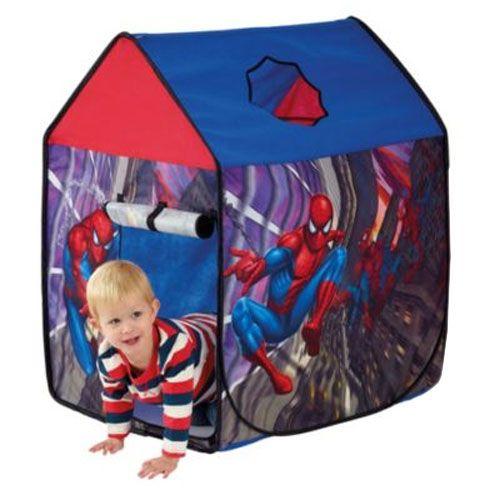 tente de jeux spiderman. Black Bedroom Furniture Sets. Home Design Ideas