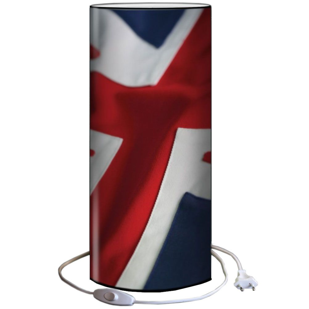 petite lampe tube pvc drapeau anglais. Black Bedroom Furniture Sets. Home Design Ideas