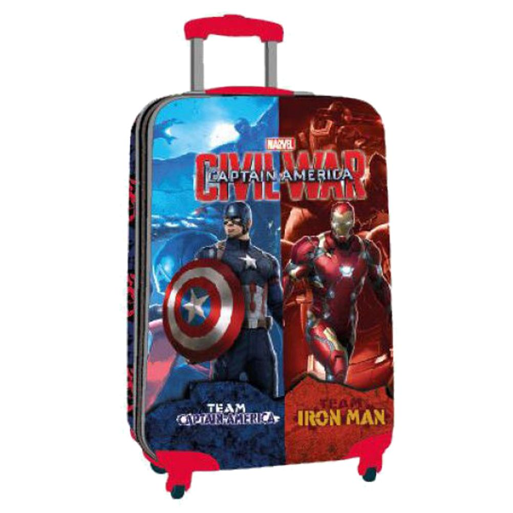 petite valise coque rigide civil war marvel. Black Bedroom Furniture Sets. Home Design Ideas