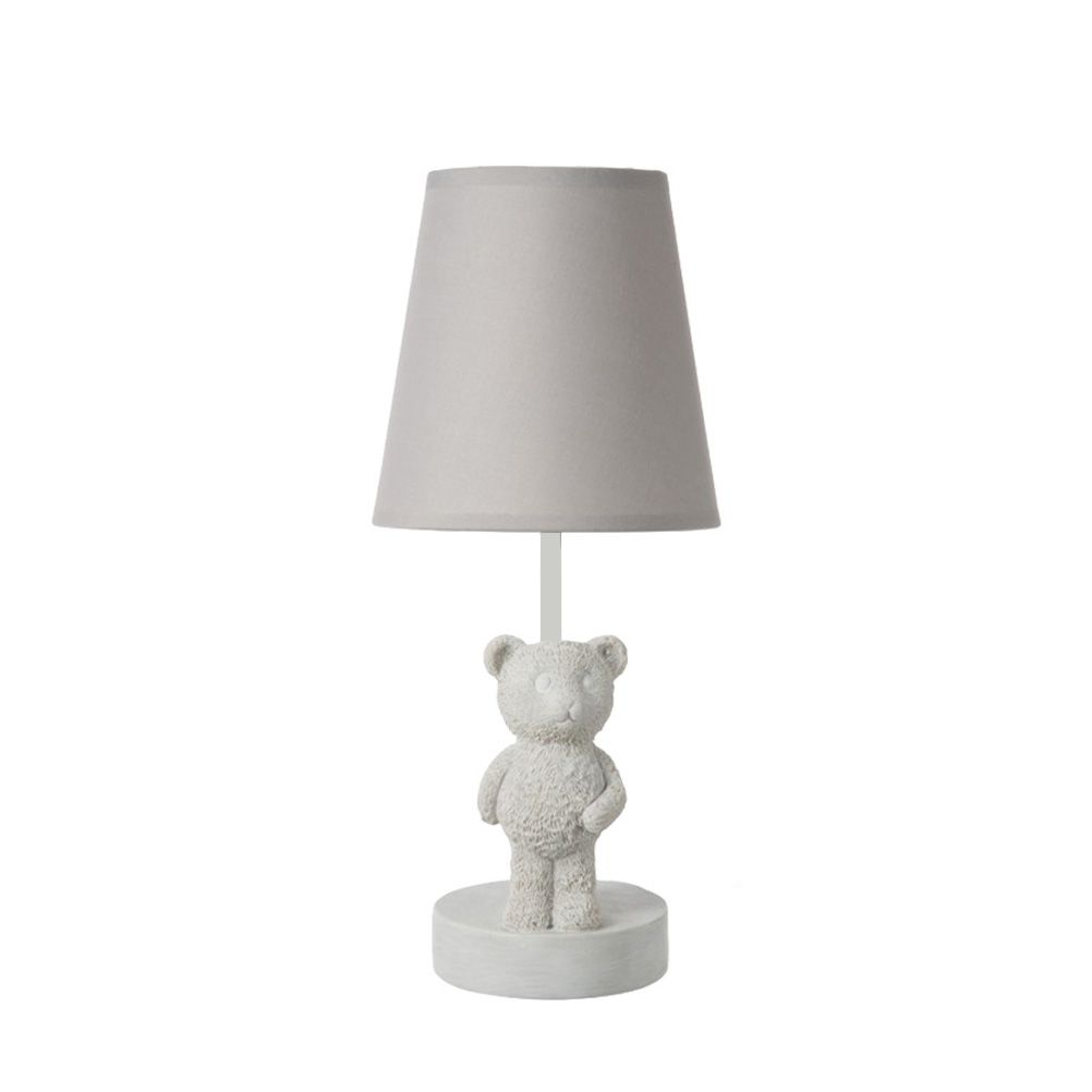 lampe de chevet petit ours blanc. Black Bedroom Furniture Sets. Home Design Ideas
