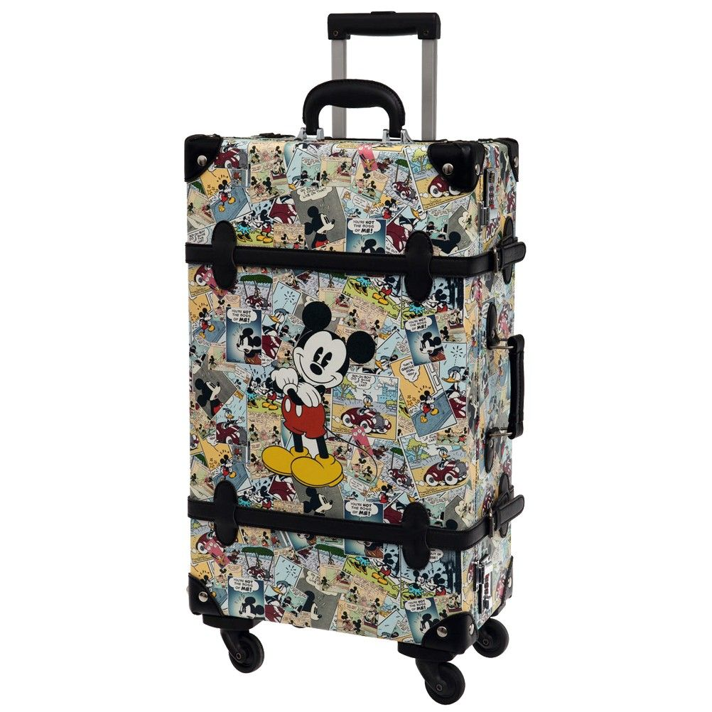 grande valise coque rigide mickey r tro. Black Bedroom Furniture Sets. Home Design Ideas
