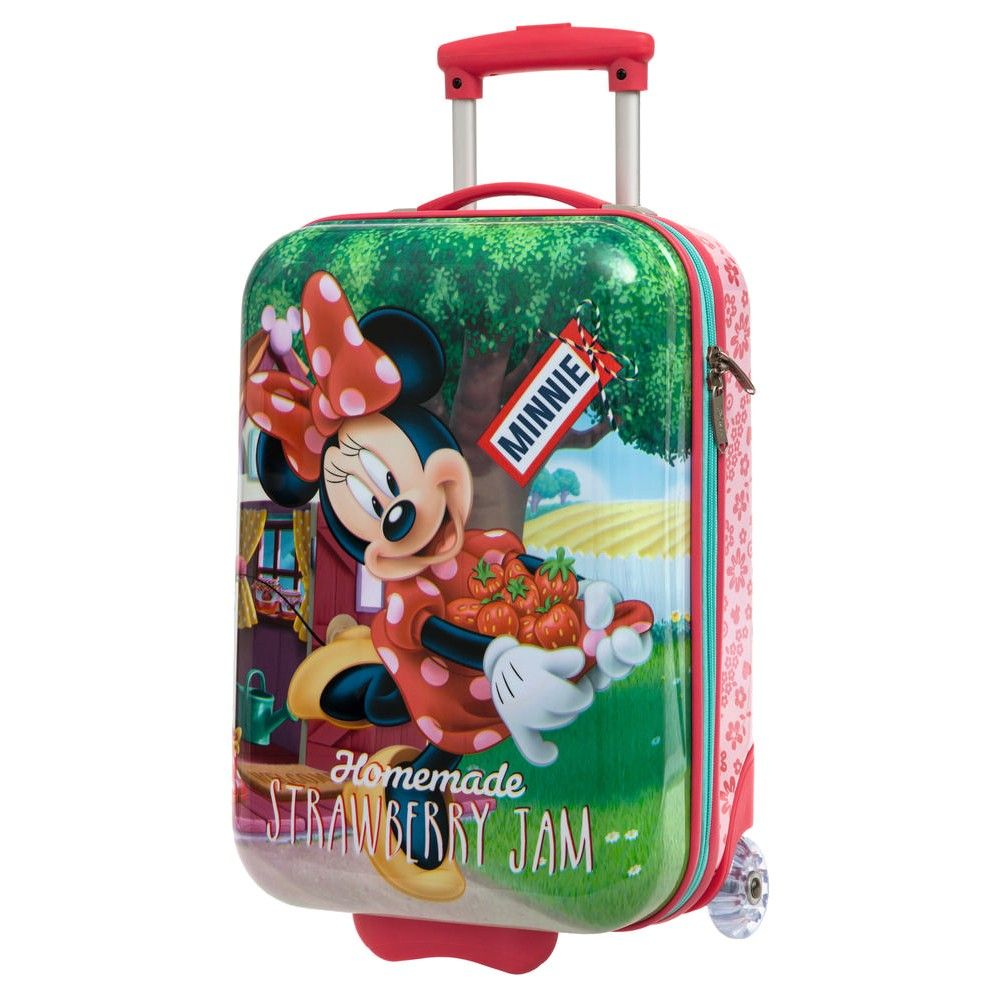 petite valise trolley coque rigide minnie. Black Bedroom Furniture Sets. Home Design Ideas