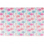 Set de table Rectangulaire Flamants Roses