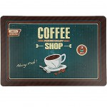 Set de table Rectangulaire Coffee Shop