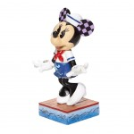 Figurine de collection Minnie costume Marin