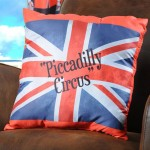 Coussin Drapeau Piccadilly