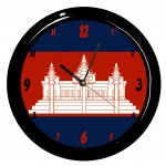 Pendule ronde Cambodge Cbkreation