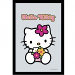 Miroir rectangulaire sérigraphié Hello Kitty