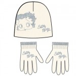 Set Bonnet - Gants Betty Boop enfant