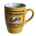 Mug Coffee jaune