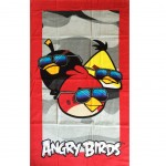 Drap de bain Les Angry Birds Under the Sun