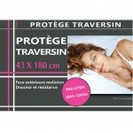 Protection de Traversin en molleton 43 x 180 cm