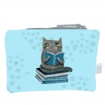 Pochette en coton Crasy Cat by Allen