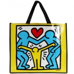Sac pour les courses Jaune Keith Haring
