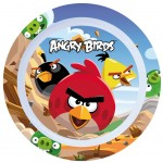 Assiette Mélamine Angry Birds