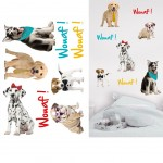 Stickers Muraux Chiots