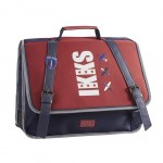 Cartable Scolaire IKKS Rouge