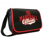 Sac besace rouge US Marshall