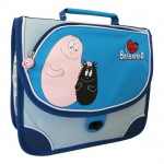 Petit cartable Barbapapa bleu