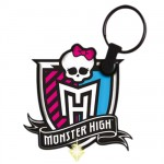 Porte clefs led Monster high Logo
