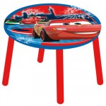 Table ronde enfant en bois Cars