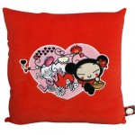 Coussin velours Pucca