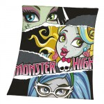 Plaid polaire Monster High Lagoona Blue