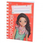 Petit carnet de notes Top Model Orange