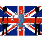 Tapis de souris God Save The Queen by Cbkreation