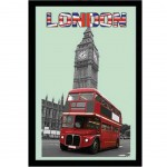 Miroir Bus et Big Ben Londres