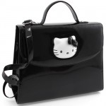 Sac à main Hello Kitty Glossy noir By Camomilla