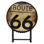 Table Pliante ronde Route 66