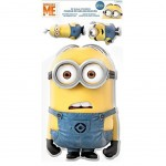 3 Stickers PVC relief les Minions