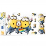 7 Stickers PVC relief les Minions