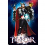 Affiche 3 personnages Thor