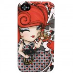 Coque Iphone 4 et 4 S Kimmidoll Love Lacy Luck