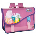 Cartable Barbapapa rose
